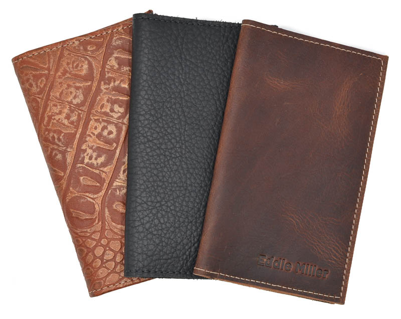 Small Fine Leather Tally Book Covers