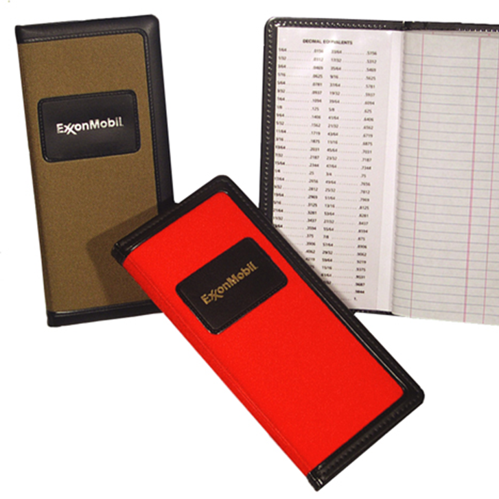 Hardcover Canvas Tally Book