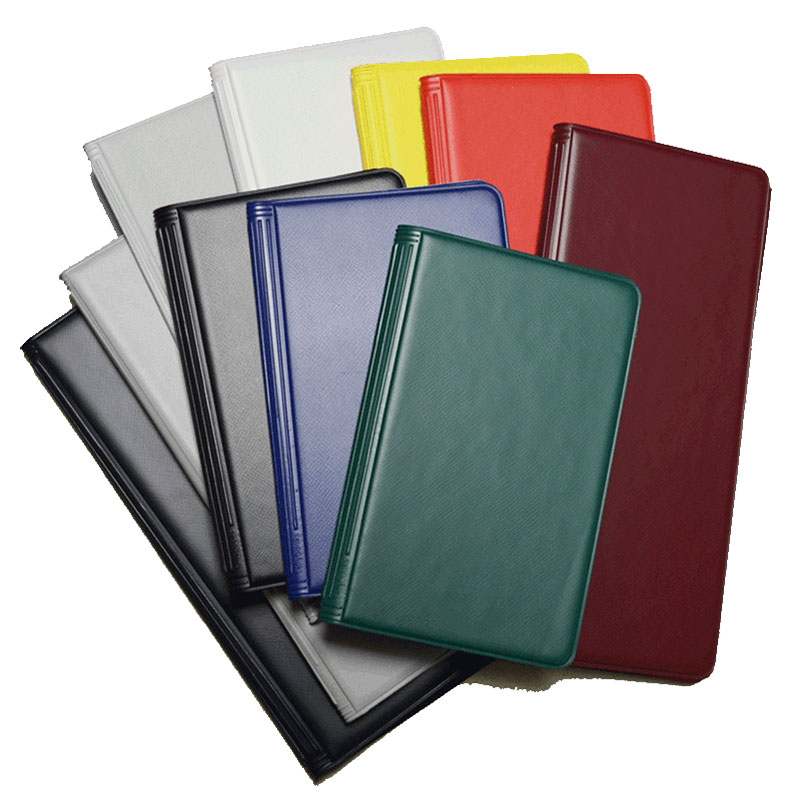 Blank Vinyl Tally Book Covers